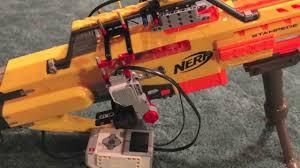 nerf remote control tank mindstorm nerf gun remote control youtube