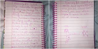 landscape writing paper madie cardon diary entry jessica and riley viral post