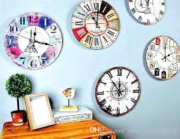 home decor wall clocks small wall clocks for living room square kitchen wall clocks small