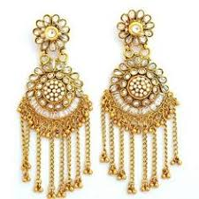 earrings app lovely chaand baalis jadau and kundan jewellery