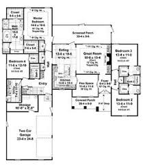 House Plans 2500 Square Feet Houseplan 59952 This Well Designed Plan Provides Many Amenities