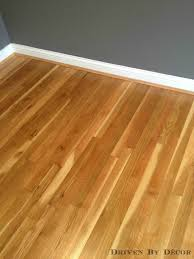refinishing hardwood floors water based vs based