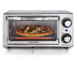 Large Toaster Oven Reviews Amazon Com Hamilton Beach 31138 Stainless Steel 4 Slice Toaster