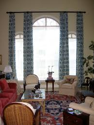 arched window treatments decorative in home interior design with