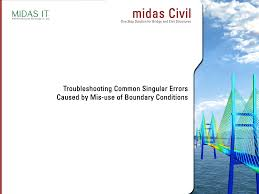 civil singular error trouble shooting guide documents