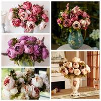Fake Flowers For Home Decor Decorative Flowers Wreaths At Cheap Price Dhgate Com Wholesale