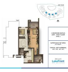 amazing floor plans for duplex 2 bangalore whitefield lakefront