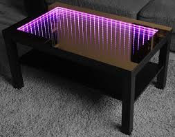 Infinity Mirror Desk Infinity Mirror Led Tisch Table