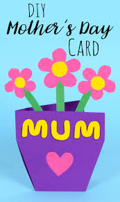 mother u0027s day flowerpot card u2014 doodle and stitch