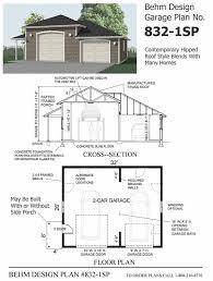 garage plans with porch 2 bay garage plans home design