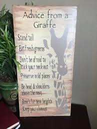 wisdom from a giraffe heartland giraffe and woods