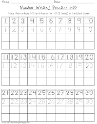 number practice worksheet worksheets