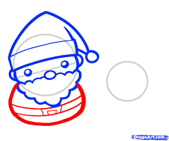 how to draw santa and rudolph santa and rudolph step by step