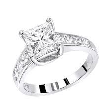 unique princess cut engagement rings gold unique princess cut engagement ring 2 65ct by luxurman