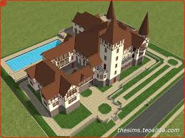 Floor Plans Of Castles The Sims 2 Peles Castle The Sims Fan Page