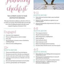 wedding checklist book the ultimate destination wedding checklist mywedding with regard