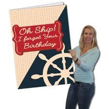 buy 2 u0026 39 x 3 u0026 39 giant belated birthday card oh crop its