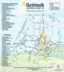Uva Map Charlottesville Area Maps Visit Charlottesville