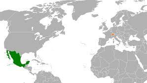 Switzerland World Map by Mexico U2013switzerland Relations Wikipedia