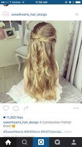 Hochsteckfrisurenen Instagram by Pin Davis Auf Half Pony Styles And