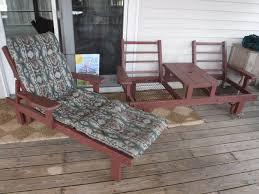 Redwood Patio Table John U0026 Carolyn Ketchka Shamrock Auctions