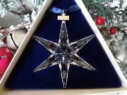 amazon com swarovski annual edition christmas ornament 1993 home
