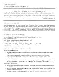 Resume Samples For Teacher by High Teacher Resume Example