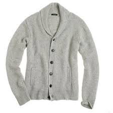 men sweaters spencer jersey shawl cardigan j crew polyvore