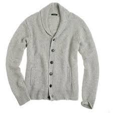 men sweaters spencer jersey shawl cardigan j crew polyvore