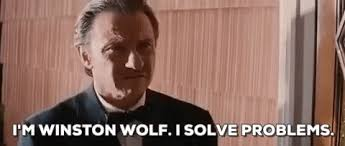 Pulp Fiction Memes - harvey keitel winston wolf gif find share on giphy