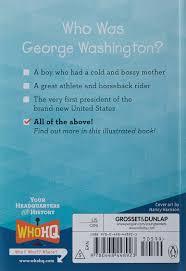 who was george washington roberta edwards who hq true kelley