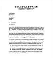 job cover letter sample pdf fresh sample cover letter for any job