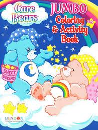 amazon care bears jumbo coloring u0026 activity book bedtime