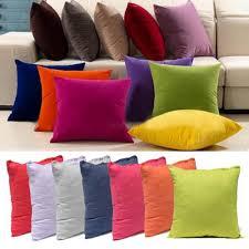 colorful sofa pillows multi color square pillow case living home sofa car decor soft