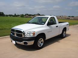 2007 dodge ram 1500 sxt truck regular cab 12 588 texas car truck