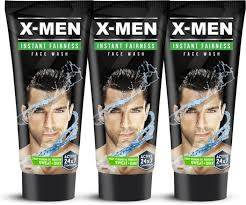 x men instant fairness 150 g pack of 3 x 50 gm face wash price in