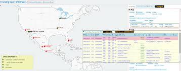 Fedex Route Map by Opsveda Product In Transit Opsveda