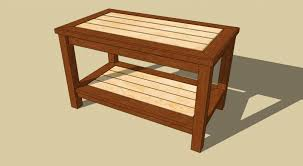farmhouse end table plans table woodworking coffee table plans popular cool easy projects