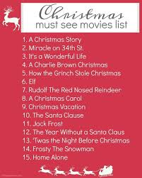 classic christmas favorites how many of these you here s a free printable christmas list to make sure you