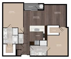 studio 1 2 3 bedroom apartments the millennium kirby 2 bed 2 bath b2