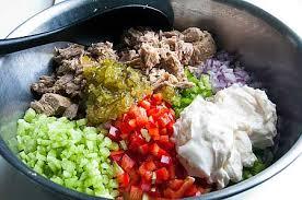 Pasta Salad Mayo by Kitchen Riffs Tuna Pasta Salad