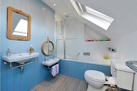 blue bathroom design ideas trendy bathrooms that combine gray and color in sensational style
