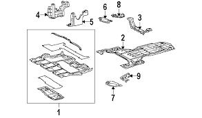 lexus gs300 parts diagram parts com lexus gs350 splash shields oem parts
