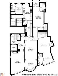 Floor Plans Chicago 999 North Lake Shore Drive Amazing Floor Plans By Jfp