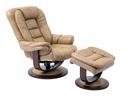 Swivel Recliner Leather Swivel Recliner With Ottoman Renegade Leather Recliner