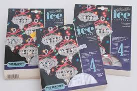 bead ornament kit lot beadery winter ice kits to make beaded