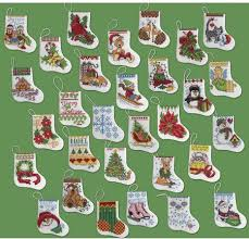bucilla more tiny ornaments cross stitch kit
