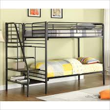 white twin over full metal bunk bed practical twin over full