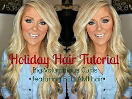 does megjan kelly wear hair extensions hair tutorial big voluminous curls featuring bellami hair