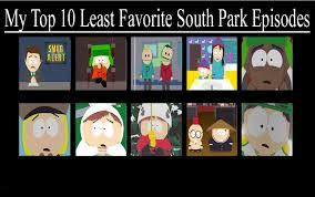 South Park Meme Episode - my top 10 least favorite south park episodes by francisjairam121 on
